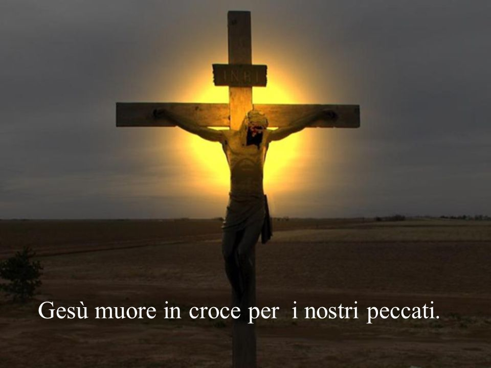 Gesù,Tu che ci hai dato nella croce il nuovo albero della vita, fa' che gustiamo i suoi frutti di salvezza.