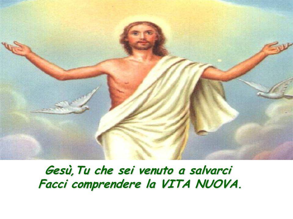 Gesù muore in croce per i nostri peccati.
