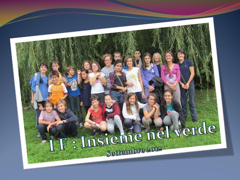 L'annuario: classe 1F settembre 2012 www.istitutotrento5.it