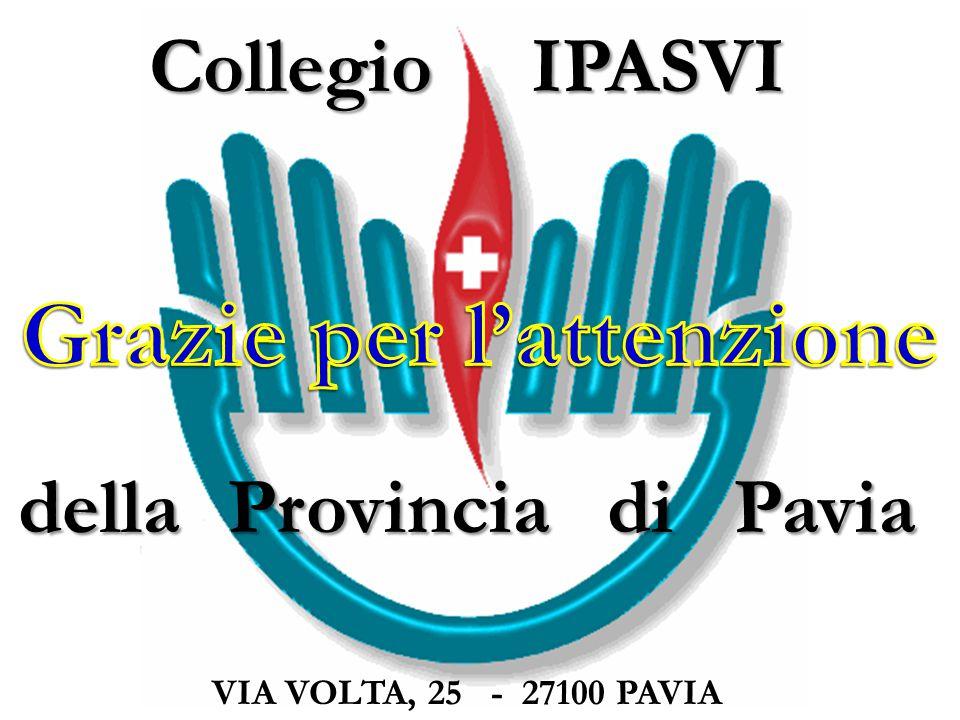 Collegio IPASVI della Provincia di Pavia VIA VOLTA, 25 - 27100 PAVIA