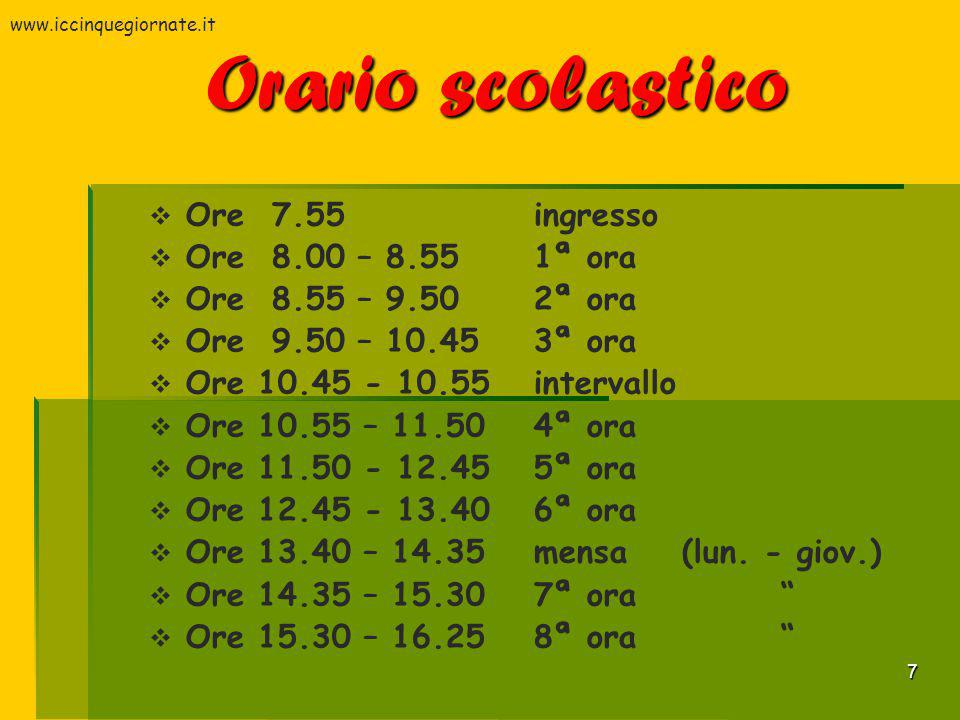 8 Ampliamento Offerta Formativa Continuità Orientamento Potenziamento matematica Ed.