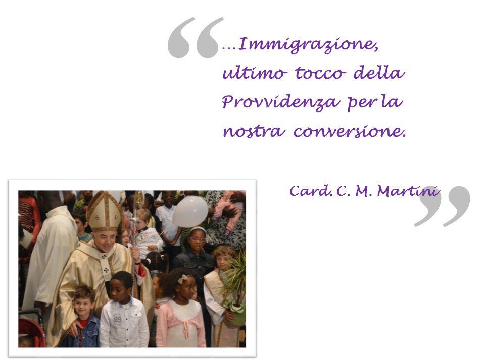 a a …Immigrazione, ultimo tocco della Provvidenza per la nostra conversione.