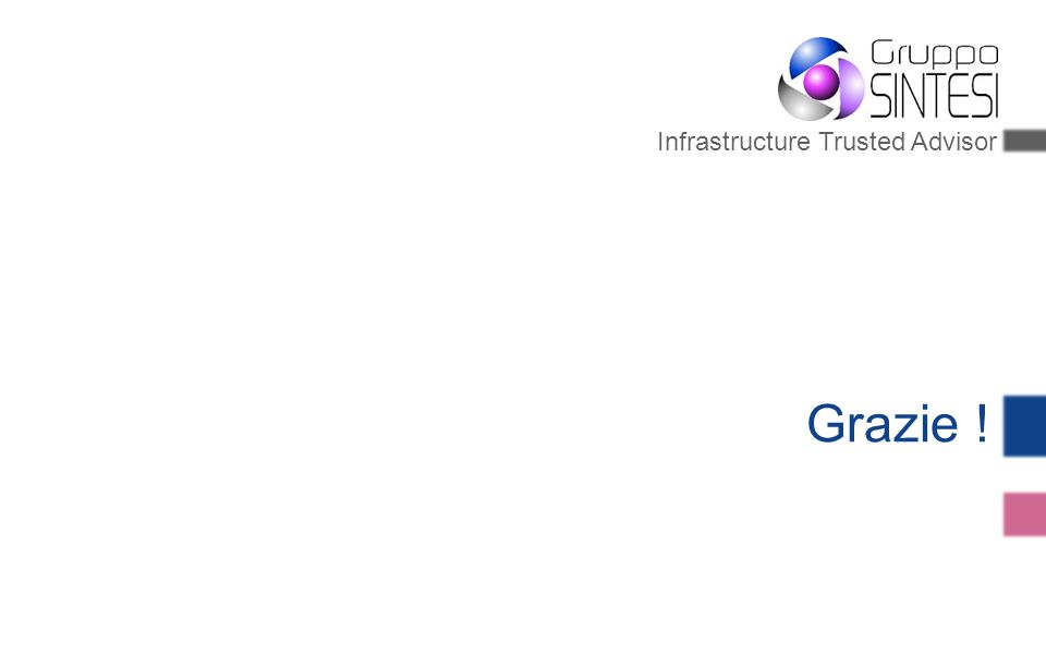Infrastructure Trusted Advisor Grazie !