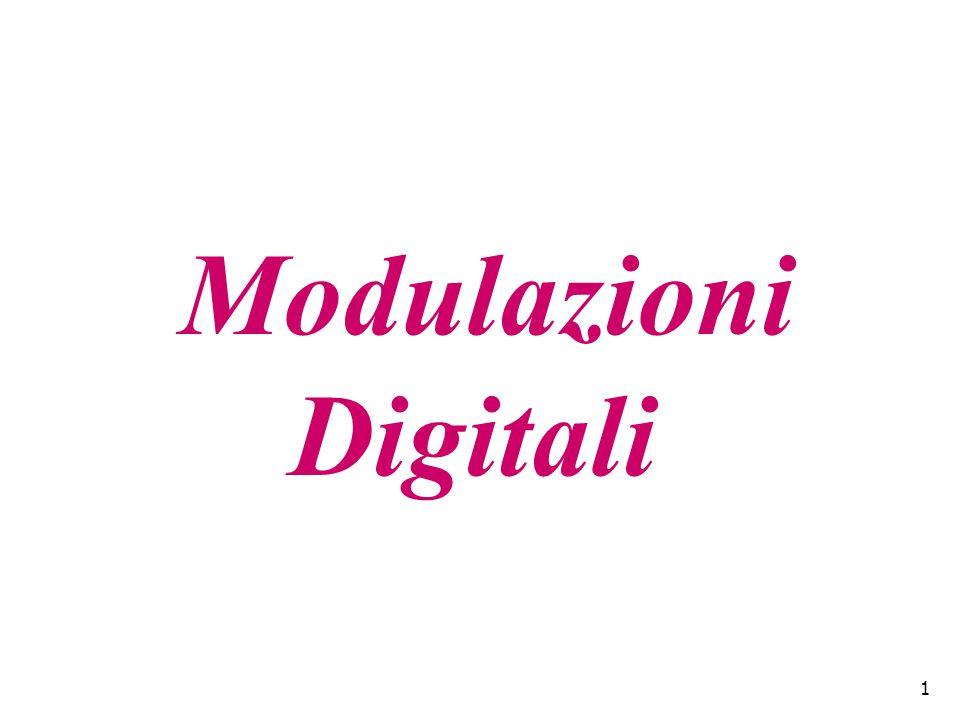 1 Modulazioni Digitali
