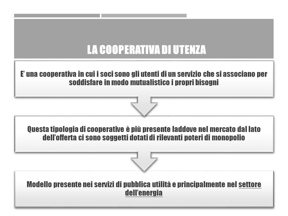 CASO ACEA (DATI AL 31.12.2013)  Capitale sociale: €1.098.898.884,00  Numero azioni: 212.964.900,00  Valore nominale: € 5,16  Ipotesi: acquisizione da parte di una cooperativa di utenti del 7% del capitale per un investimento totale di € 76.922.921,88 e un numero di azioni pari a 14.907.543,00  Utenti di ACEA Energia 1.500.000