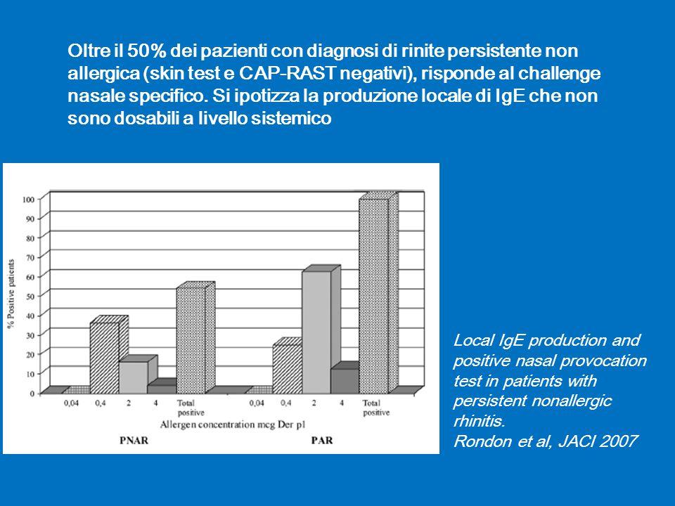 Indagini rinologiche : Rinomanometria Valuta la funzionalità respiratoria nasale attraverso il rilievo dei flussi e delle resistenze nelle singole narici.