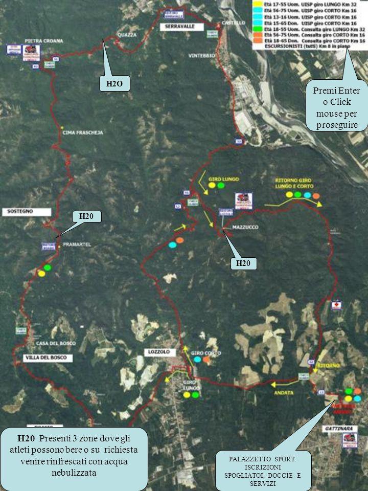 Un tratto iniziale di circa 6 km tutto in piano su sterrato duro Breve tratto di asfalto di circa 1 km.