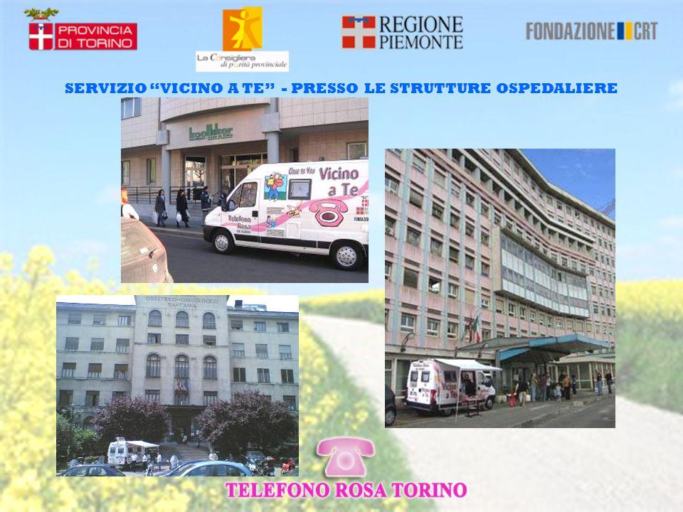 SERVIZIO VICINO A TE - PRESSO LE STRUTTURE OSPEDALIERE
