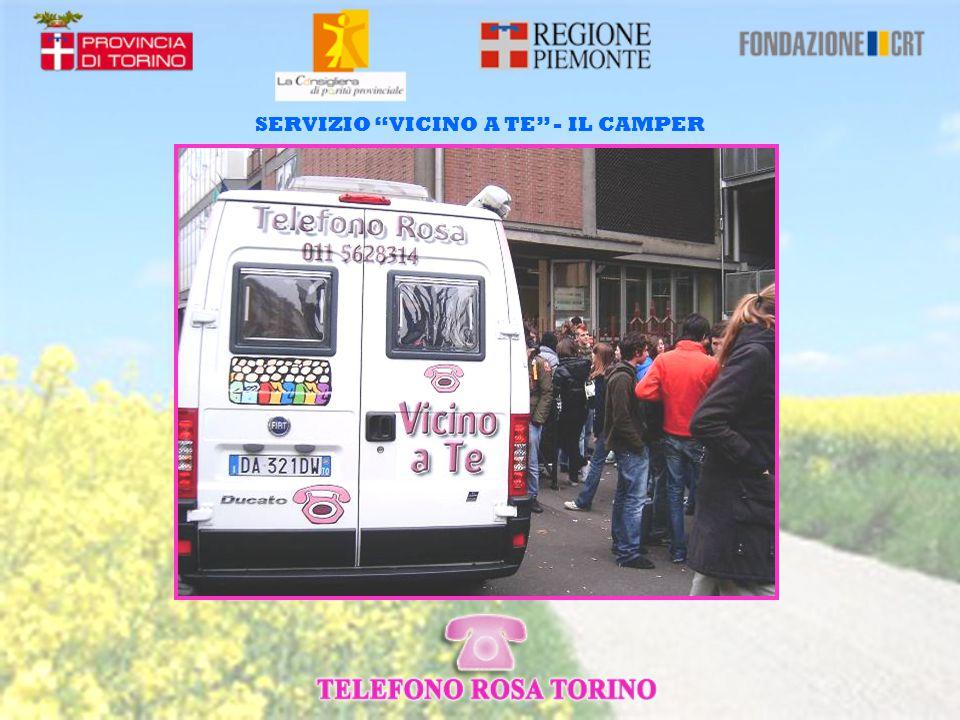 SERVIZIO VICINO A TE – PRESSO SCUOLE, ISTITUTI, UNIVERSITA'