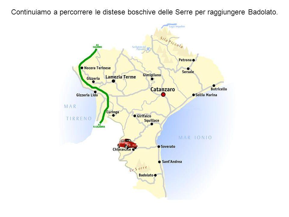 Chiaravalle Centrale ha 5.824 abitanti adagiata sulle falde della collina Sorbia. Anticamente il nome era Claravallis, documentato in uno scritto in l