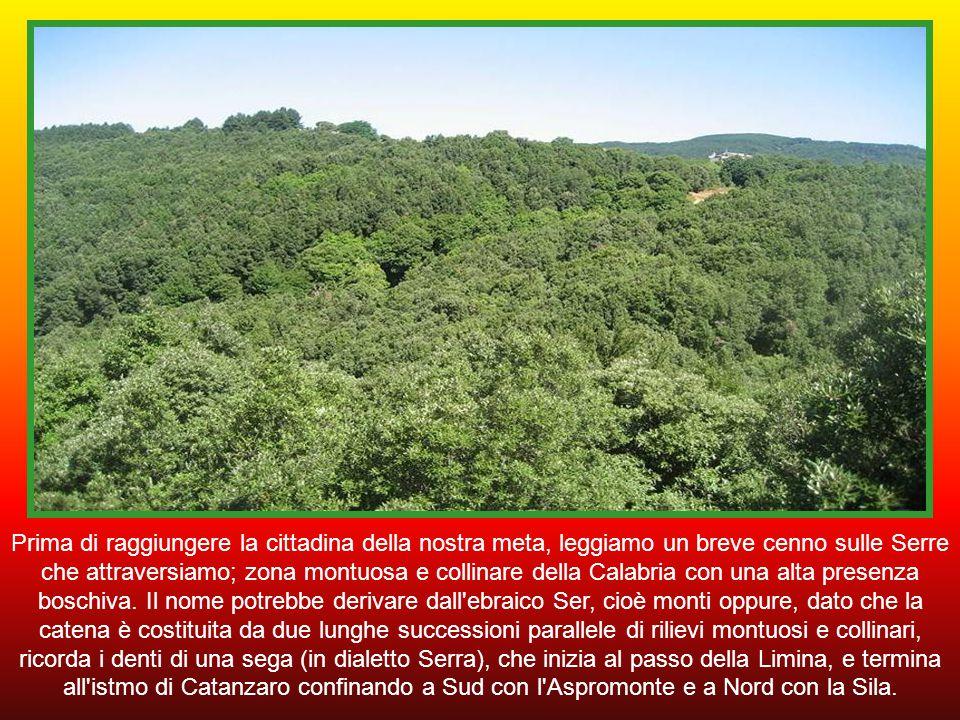 Continuiamo a percorrere le distese boschive delle Serre per raggiungere Badolato.