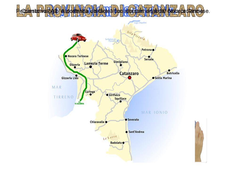 Percorriamo l'A3 Autostrada del Sole fino alla prima tappa: Nocera Terinese.Questo viaggio ci porterà a visitare alcuni comuni degli 80 della provincia.