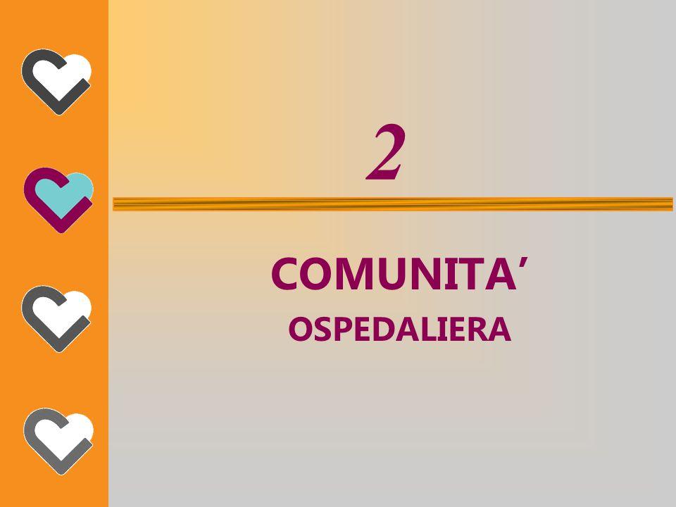2 COMUNITA' OSPEDALIERA