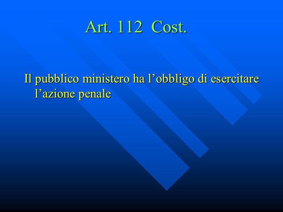 Art.113, 1° e 2° co., Cost.