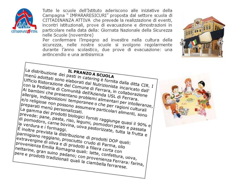 """Tutte le scuole dell'Istituto aderiscono alle iniziative della Campagna """" IMPARARESICURI"""" proposta dal settore scuola di CITTADINANZA ATTIVA che preve"""