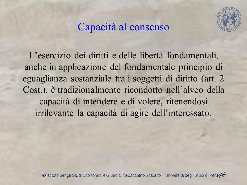 L'esercizio dei diritti e delle libertà fondamentali, anche in applicazione del fondamentale principio di eguaglianza sostanziale tra i soggetti di diritto (art.
