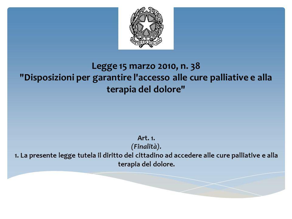 MONITORAGGIO  Art.9 della legge n.