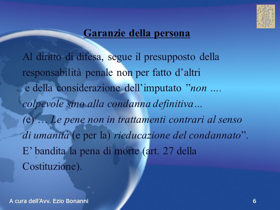 A cura dell'Avv.Ezio Bonanni 27 L' Evento L'evento è il risultato dell'azione o dell'omissione.