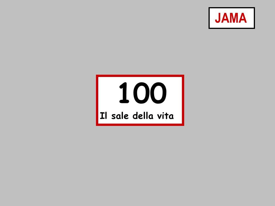 100 Il sale della vita JAMA