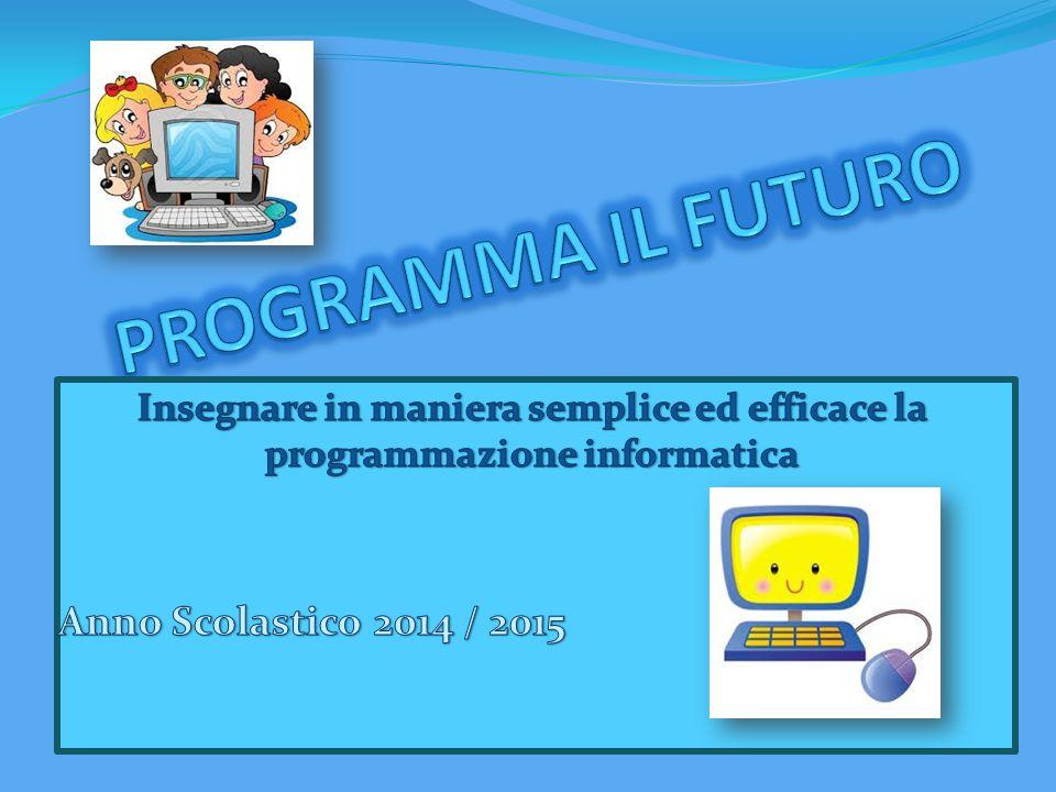 Formare gli studenti ai concetti di base dell' informatica attraverso la programmazione ( CODING), per essere culturalmente preparati a qualunque lavoro.