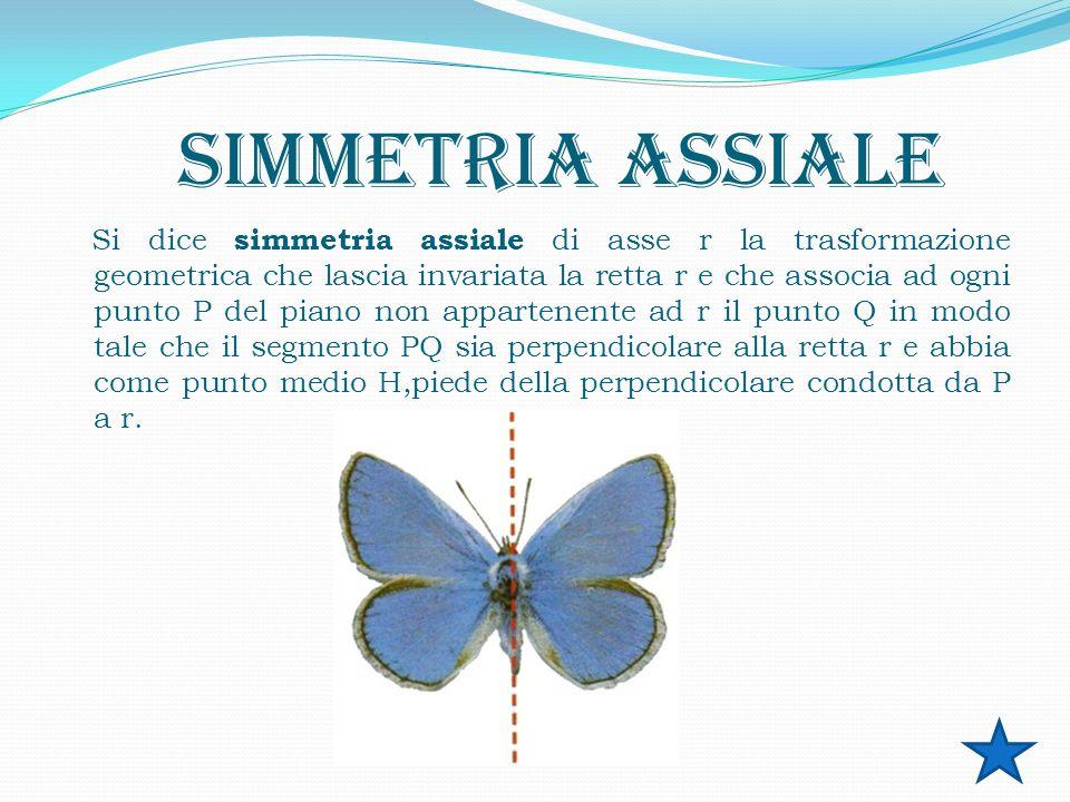 SIMMETRIA Il termine simmetria indica generalmente la presenza di alcune ripetizioni nella forma geometrica di un oggetto.