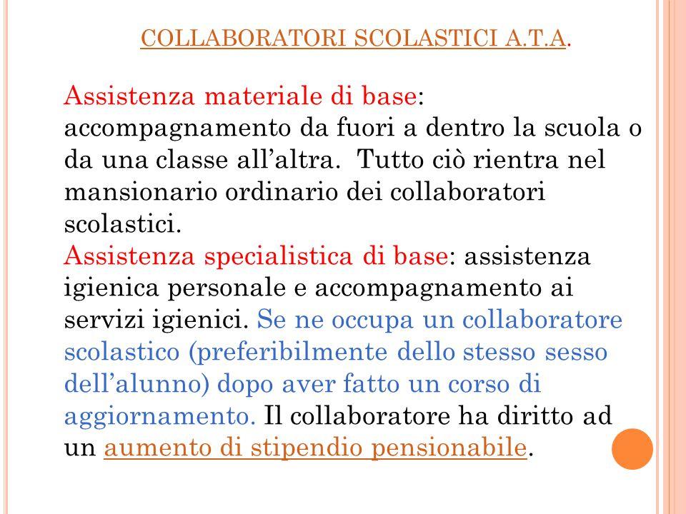 COLLABORATORI SCOLASTICI A.T.A.