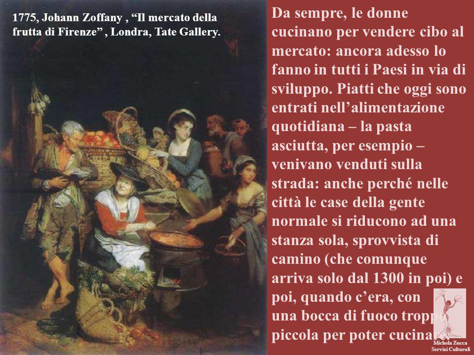 Michela Zucca Servizi Culturali Da sempre, le donne cucinano per vendere cibo al mercato: ancora adesso lo fanno in tutti i Paesi in via di sviluppo.