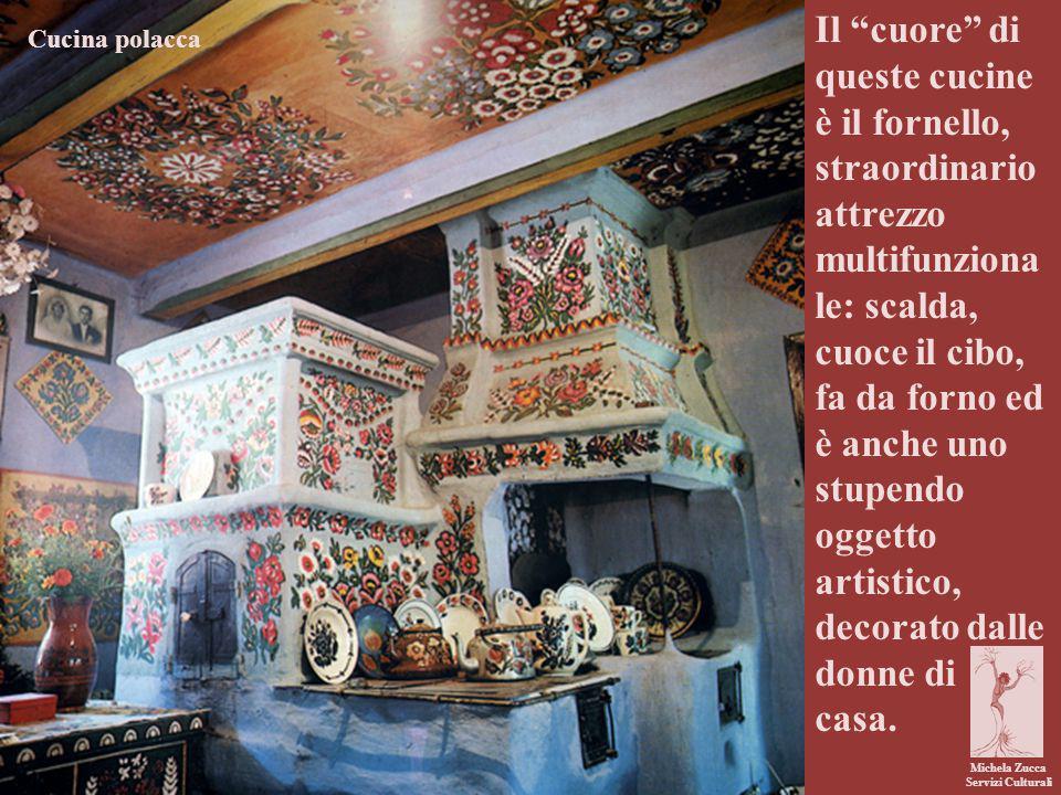 """Michela Zucca Servizi Culturali Il """"cuore"""" di queste cucine è il fornello, straordinario attrezzo multifunziona le: scalda, cuoce il cibo, fa da forno"""