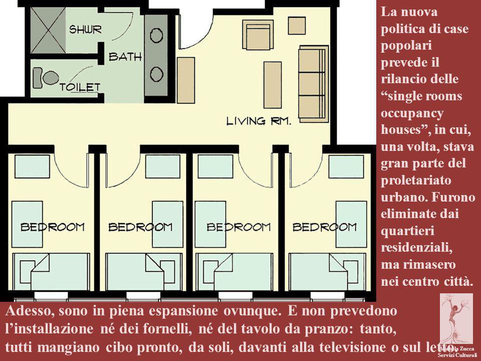 Michela Zucca Servizi Culturali Adesso, sono in piena espansione ovunque. E non prevedono l'installazione né dei fornelli, né del tavolo da pranzo: ta