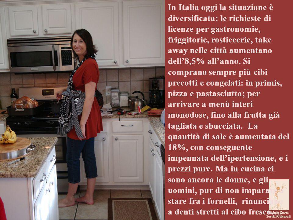 Michela Zucca Servizi Culturali In Italia oggi la situazione è diversificata: le richieste di licenze per gastronomie, friggitorie, rosticcerie, take