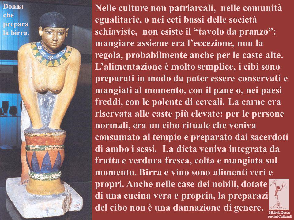 Michela Zucca Servizi Culturali Il lavoro in cucina viene svolto in solitudine.