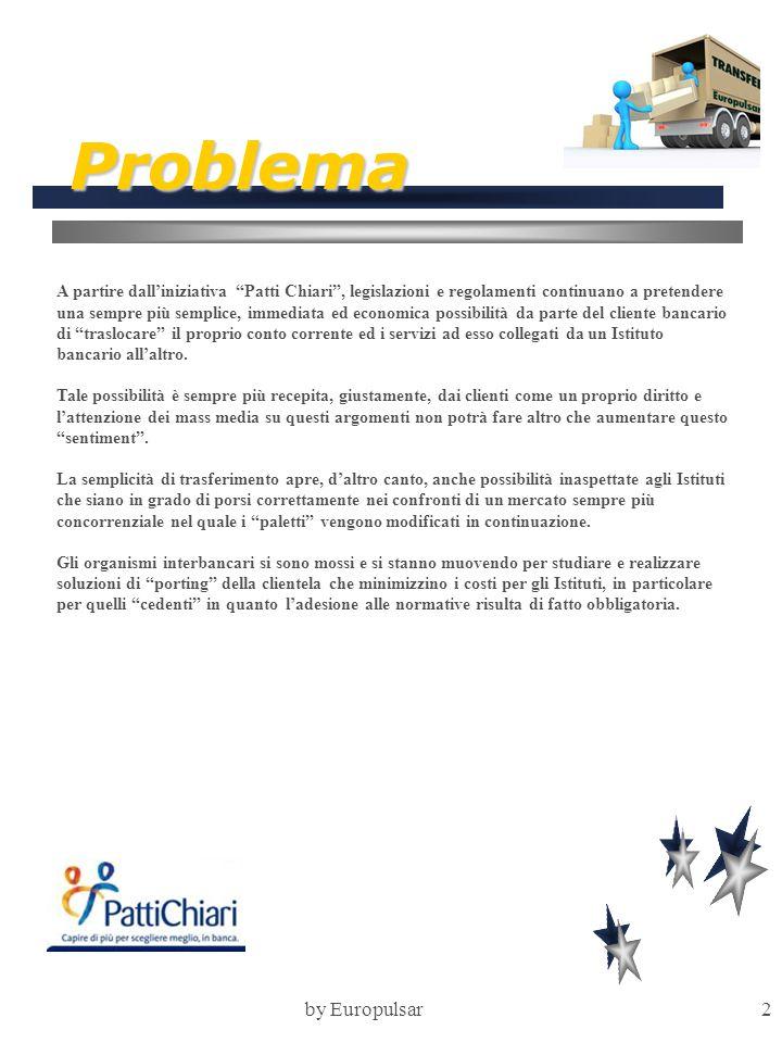"""by Europulsar2 Problema A partire dall'iniziativa """"Patti Chiari"""", legislazioni e regolamenti continuano a pretendere una sempre più semplice, immediat"""