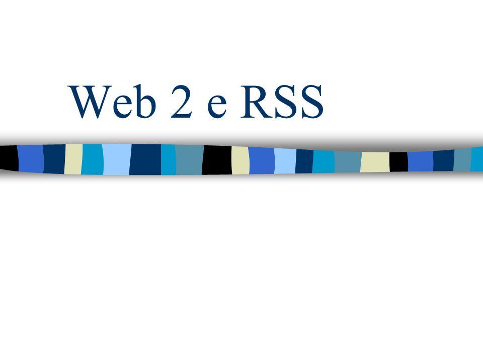 Web 2 e RSS