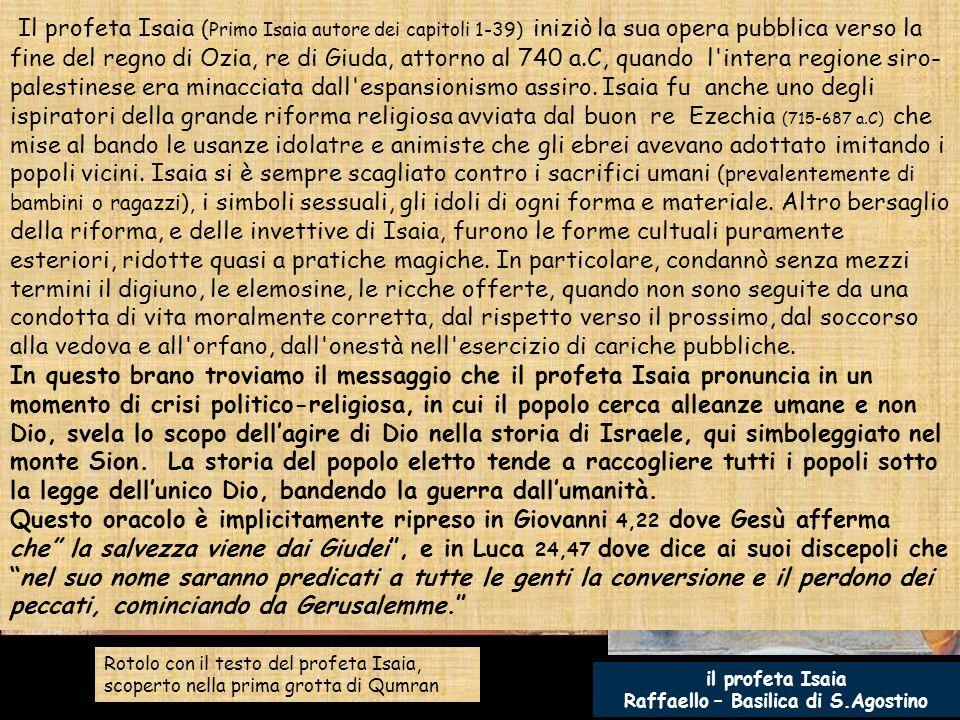 E' la prima domenica di Avvento del ciclo A e il Vangelo di Matteo (il secondo per lunghezza, dopo quello di Luca), ci condurrà per tutto il percorso dell'anno liturgico.