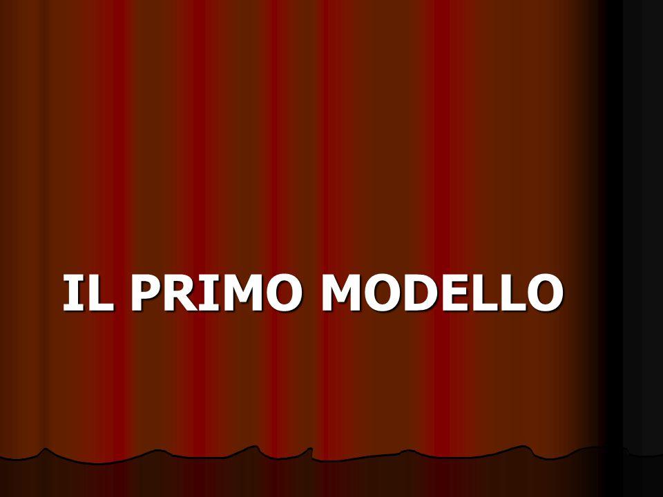 IL PRIMO MODELLO