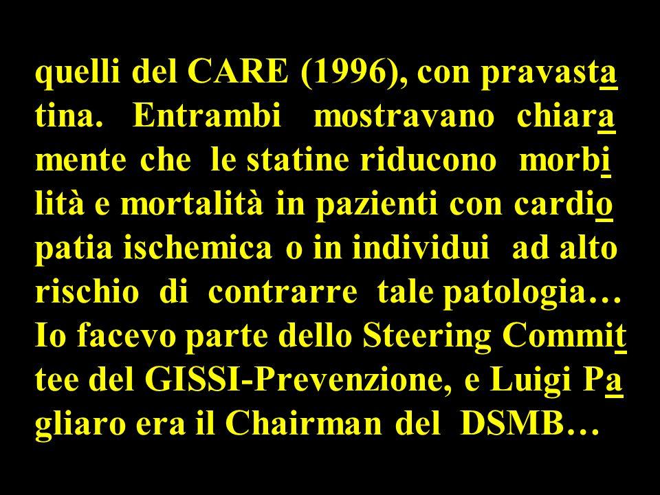 quelli del CARE (1996), con pravasta tina.