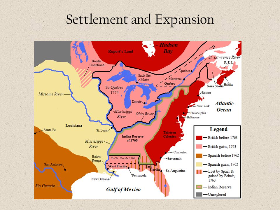 Settlement and Expansion