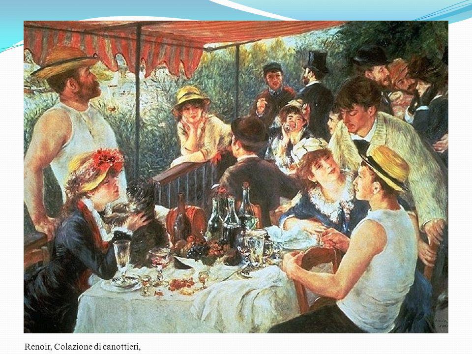 Renoir, Colazione di canottieri,