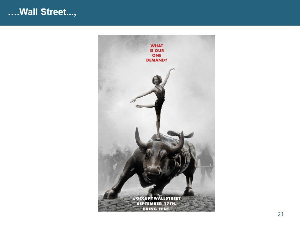 21 ….Wall Street...,
