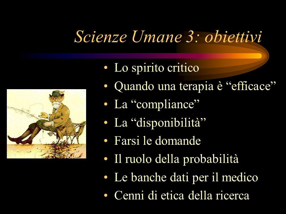 Scienze Umane 3 Roberto Iovine Direttore UOC medicina Riabilitativa AUSL di Bologna Osp. San Giovanni in Persiceto roberto.iovine@ausl.bo.it