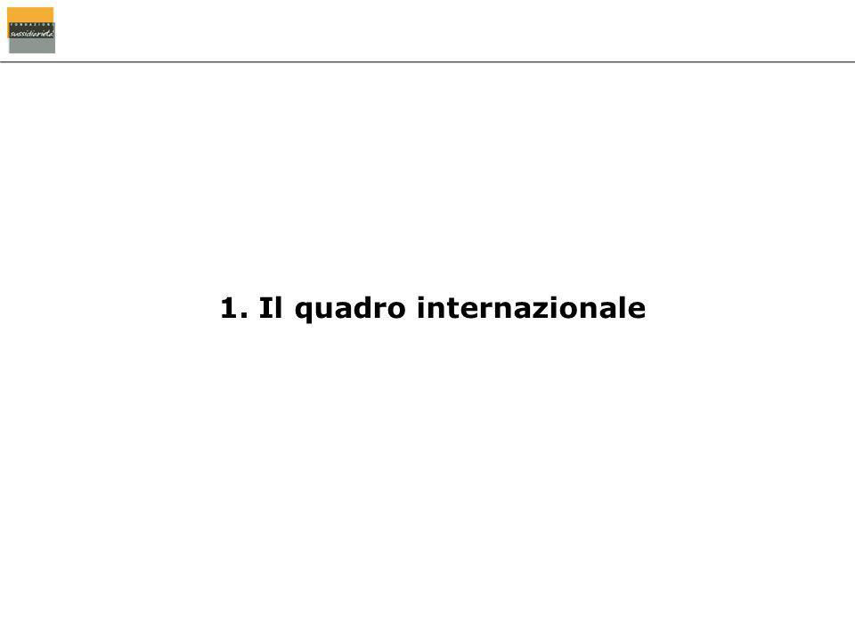 1. Il quadro internazionale