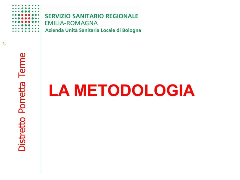 Distretto Porretta Terme 1. LA METODOLOGIA