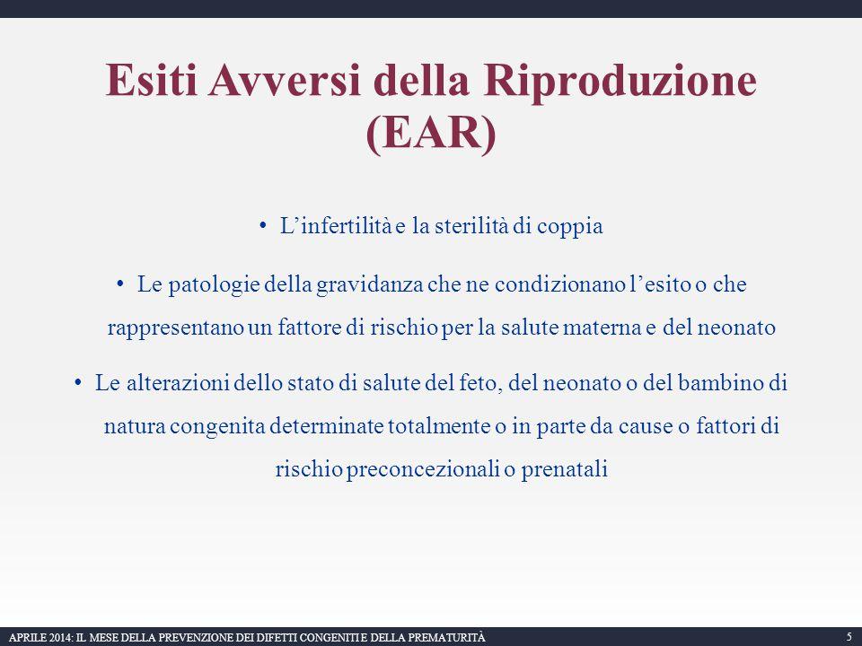 6 APRILE 2014: IL MESE DELLA PREVENZIONE DEI DIFETTI CONGENITI E DELLA PREMATURITÀ Mastroiacovo P.