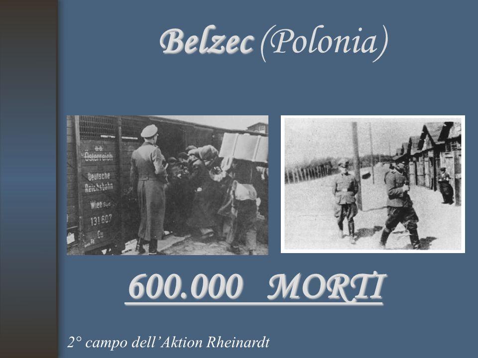 Belzec Belzec (Polonia) 600.000 MORTI 2° campo dell'Aktion Rheinardt