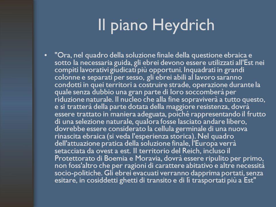 Il piano Heydrich