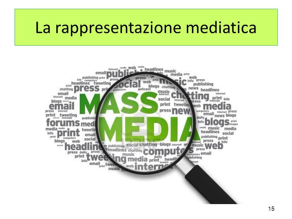 La rappresentazione mediatica 15