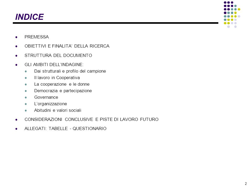 23 SEZIONE 2: Il lavoro in cooperativa DOM.5: CONOSCI LE STRUTTURE DEL MONDO COOPERATIVO.