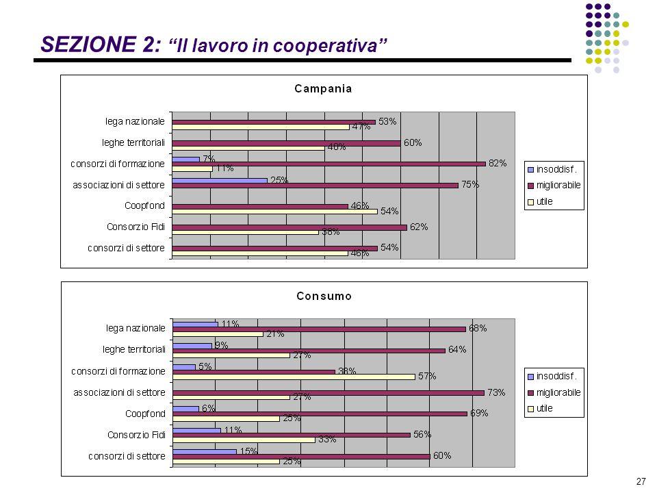 """27 SEZIONE 2: """"Il lavoro in cooperativa"""""""