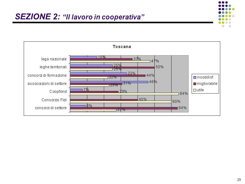 """29 SEZIONE 2: """"Il lavoro in cooperativa"""""""
