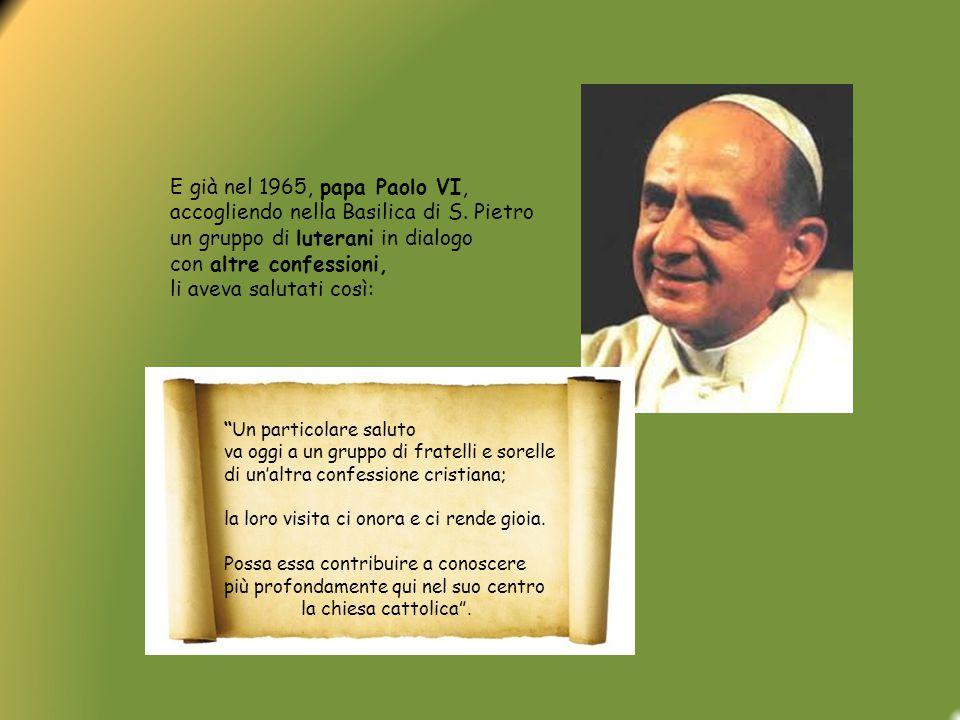 Non imponiamo nulla , ha aggiunto papa Francesco, non usiamo nessuna strategia subdola per attirare fedeli, bensì testimoniamo con gioia, con semplicità ciò in cui crediamo e quello che siamo.